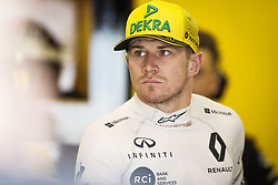 April 27, 2018 - Baku, Azerbaijan - HULKENBERG Nico (ger), Renault Sport F1 Team RS18, portrait during the 2018 Formula One World Championship, Grand Prix of Europe in Azerbaijan from April 26 to 29 in Baku - Photo  /  Motorsports: World Championship; 2018; Grand Prix Azerbaijan, Grand Prix of Europe, Formula 1 2018 Azerbaijan Grand Prix, (Credit Image: © Hoch Zwei via ZUMA Wire)