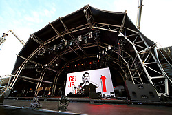 A general view of the staging during the Bryan Adams concert at Sixways - Mandatory by-line: Matt McNulty/JMP - 13/07/2017 - Sixways Stadium - Worcester, England