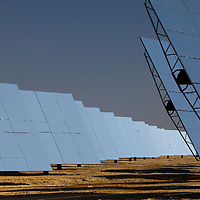 July 2013 - Spain - Andalucia - Solar thermal power stations