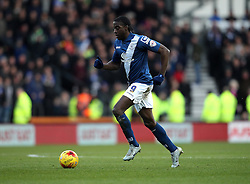 Clayton Donaldson of Birmingham City runs with the ball - Mandatory byline: Robbie Stephenson/JMP - 16/01/2016 - FOOTBALL - iPro Stadium - Derby, England - Derby County v Birmingham City - Sky Bet Championship