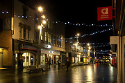Victoria Street, Grimsby, North East Lincolnshire at night, Shopping, Business,  Tourism, Landscape  Landmark, Photojournalism,