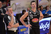 Daniele Cinciarini, arbitro<br /> The FlexX Pistoia Basket - Pasta Reggia Juve Caserta<br /> Lega Basket Serie A 2016/2017<br /> Pistoia, 13/02/2017<br /> Foto Ciamillo-Castoria