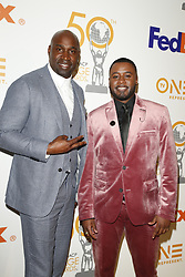 March 9, 2019 - Los Angeles, CA, USA - LOS ANGELES - MAR 9:  Keith Neal, Daren Baldwin at the 50th NAACP Image Awards Nominees Luncheon at the Loews Hollywood Hotel on March 9, 2019 in Los Angeles, CA (Credit Image: © Kay Blake/ZUMA Wire)