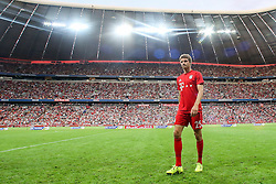 04.08.2015, Allianz Arena, Muenchen, GER, AUDI CUP, Real Madrid vs Tottenham Hotspur, im Bild Thomas Mueller (FC Bayern Muenchen #25) // during the 2015 AUDI Cup Match between Real Madrid CF and Tottenham Hotspur at the Allianz Arena in Muenchen, Germany on 2015/08/04. EXPA Pictures © 2015, PhotoCredit: EXPA/ Eibner-Pressefoto/ Schüler<br /> <br /> *****ATTENTION - OUT of GER*****