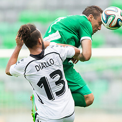 20140719: SLO, Football - Prva liga Telekom Slovenije, NK Olimpija vs NK Krka