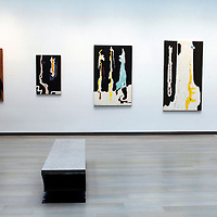USA, Colorado, Denver. Clyfford Still Museum gallery.