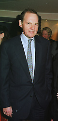 The EARL OF DARTMOUTH at a dinner in London on 10th March 1999.<br /> MPG 31 mo