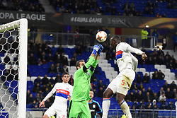 November 23, 2017 - Decines Charpieu - Parc Ol, France - Moucatr Diakhaby (lyon) vs Bruno Vale  (Credit Image: © Panoramic via ZUMA Press)