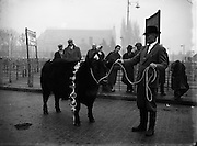 Dublin fat stock show and sale..09/12/1958