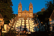 PORTUGAL, NORTH, MINHO Bom Jesus Do Monte near Braga