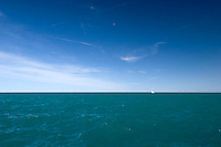 Lake Michigan in good weather , Chicago, Illinois