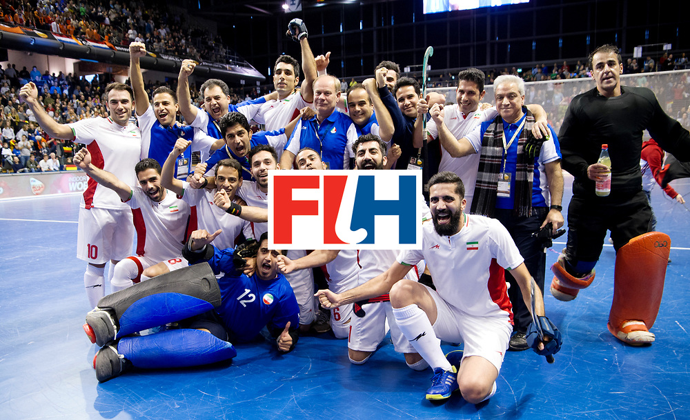 BERLIN - Indoor Hockey World Cup<br /> Bronze: Iran - Australia<br /> Iran won the 3rd place.<br /> foto: <br /> WORLDSPORTPICS COPYRIGHT FRANK UIJLENBROEK