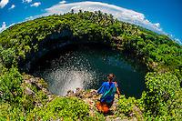 Turtle Hole, Weneki (Anep), island of Ouvea, Loyalty Islands, New Caledonia