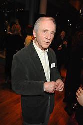 Actor ANDREW SACHS at the Orion Authors Party held at the Royal Opera House, Covent Garden, London on 11th February 2008.<br />