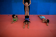 Mai's daughter, weekly attends a young girls gym in Jeddah. She aspires to be an actress and acrobat.
