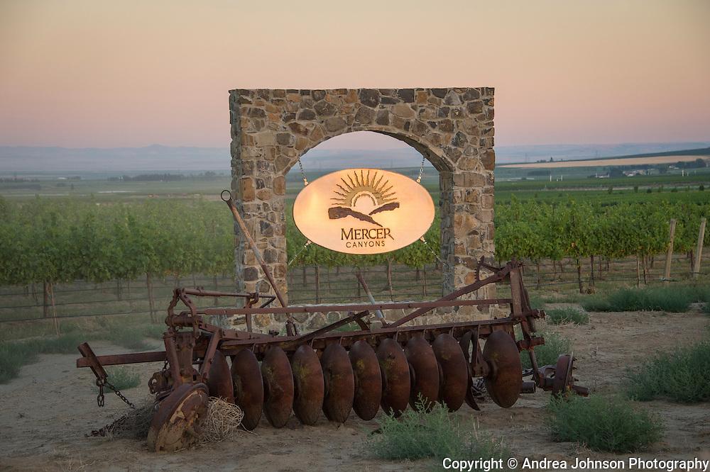 Mercer Wine Estates, Horse Heaven Hills, Washington