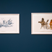Quentin Blake @ The Jerwood. Jan 2019