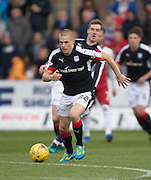 Dundee's Henrik Ojamaa - Dundee v Rangers in the Ladbrokes Scottish Premiership at Dens Park, Dundee.Photo: David Young<br /> <br />  - © David Young - www.davidyoungphoto.co.uk - email: davidyoungphoto@gmail.com