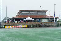 hockey, seizoen 2010-2011, 05-06-2011, leusden, finale shell landskampioenschappen C-jeugd, noodweer in leusden. veld staat onder water
