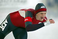 Skøyter, 9-10. november 2002. Verdenscupåpning, Vikingskipet, Chris Callis, USA