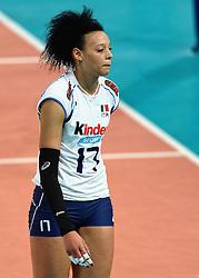 27-09-2015 NED: Volleyball European Championship Slovenie - Italie, Apeldoorn<br /> Italie wint met 3-0 van Slovenie / Valentina Diouf<br /> Photo by Ronald Hoogendoorn / Sportida