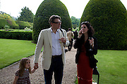 DUNCAN WARD AND MOLLIE DENT-BROCKLEHURST, The Artists' Playground. Reconstruction 3: Contemporary Art at Sudeley Castle, 2008 In partnership with Phillips de Pury & Company and supported by Chanel. 31 May 2008. *** Local Caption *** -DO NOT ARCHIVE-© Copyright Photograph by Dafydd Jones. 248 Clapham Rd. London SW9 0PZ. Tel 0207 820 0771. www.dafjones.com.