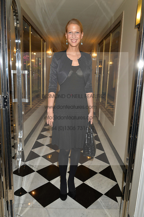LADY GABRIELLA WINDSOR at a dinner hosted by the Royal Academy of Dance to present the Queen Elizabeth II Award 2014 held at Claridge's, Brook Street, London on 4th September 2014.