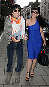 06.JULY.2009 - LONDON<br /> <br /> RONNIE WOOD LEAVING CLARIDGES HOTEL WITH A MYSTERY GIRL ON HIS ARM THEY THEN GOT IN THE CAR TOGETHER AND SMILING AND LAUGHING WITH EACH OTHER BUT THERE WAS NO SIGN OF HIS GIRLFRIEND EKATRINA. <br /> <br /> BYLINE MUST READ : EDBIMAGEARCHIVE.COM<br /> <br /> *THIS IMAGE IS STRICTLY FOR UK NEWSPAPERS &amp; MAGAZINE ONLY*<br /> *FOR WORLDWIDE SALES &amp; WEB USE PLEASE CONTACT EDBIMAGEARCHIVE - 0208 954-5968*
