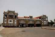 Train Station in central Dakar the capital of Senegal...Picture by Zute Lightfoot .+44(0)75145390425