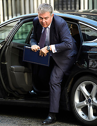 © Licensed to London News Pictures. 12/09/2017. London, UK. Minister of State for Immigration BRANDON LEWIS arrives at 10 Downing Street in London ahead of a cabinet meeting.  In the early hours of this morning government won a vote in Commons passing the EU repeal bill, by a margin of 326 to 290 votes. Photo credit: Ben Cawthra/LNP