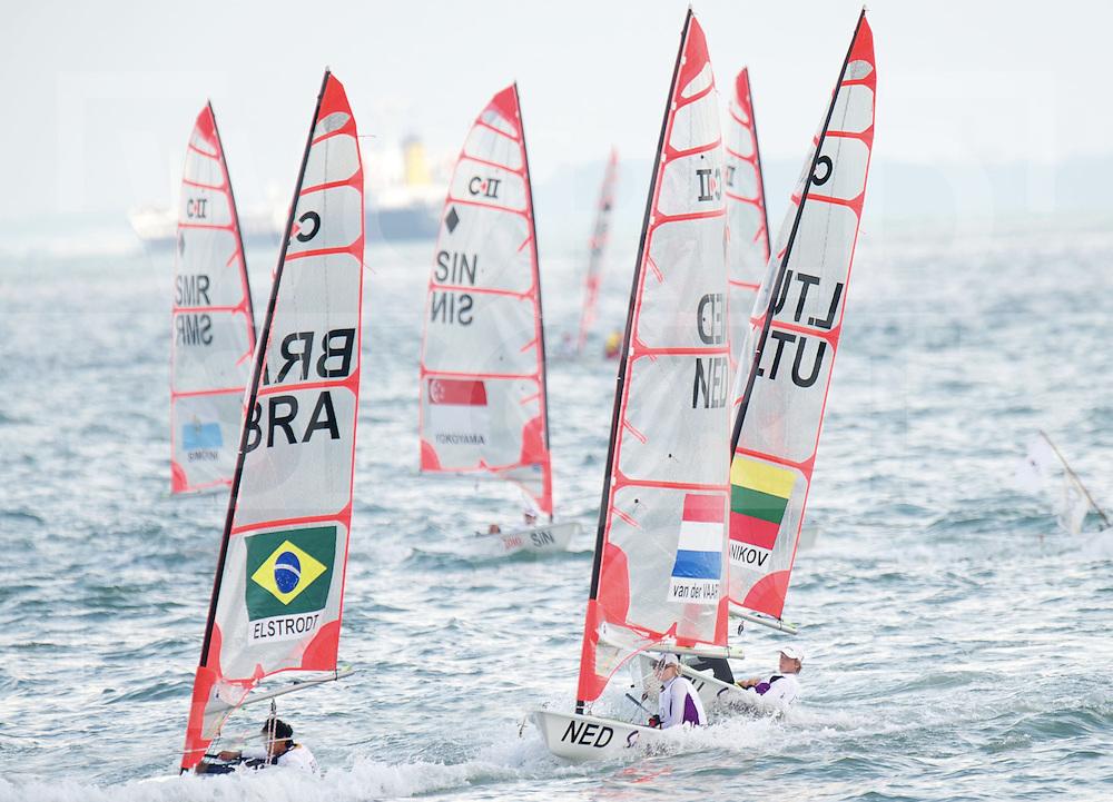 SINGAPORE - YOUTH OLYMPIC GAMES.Watersport.Byte CII -Klasse.Daphne van der Vaart.FFU PRESS AGENCY COPYRIGHT FRANK UIJLENBROEK..