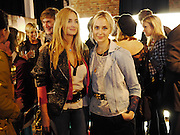 PRINCESS MARIA THURN UND TAXIS; PRINCESS ELIZABETH THURN UND TAX, The launch of the Peroni Nastro Azzurro Accademia del Film Wrap Party Tour. Brick Lane. 25 August 2010. -DO NOT ARCHIVE-© Copyright Photograph by Dafydd Jones. 248 Clapham Rd. London SW9 0PZ. Tel 0207 820 0771. www.dafjones.com.