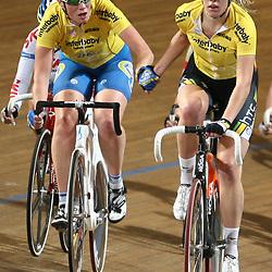 Kirsten Wild en Ellen van Dijk werden Nederlands Kampioen Koppelkoers vrouwen