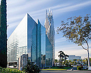 The Crystal Cathedral Building in Garden Grove California