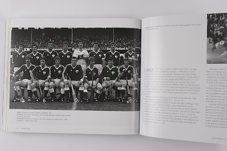 Galway-All-Ireland Hurling Champions 1980. Back Row: Conor Hayes, Steve Mahon, John Connolly, Michael Connolly, Michael Conneely, Frank Burke, Noel Lane. Front Row: Niall McInerney, Seamus Coen, Jimmy Cooney, Joe Connolly (capt), Sylvie Linnanne, P J Connolly, Bernie Forde.