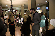 TAMZIN OUTHWAITE AND TOM ELLIS, Swiss Smile Clinic Christmas Drinks. Brook St. London. 5 December 2007. -DO NOT ARCHIVE-© Copyright Photograph by Dafydd Jones. 248 Clapham Rd. London SW9 0PZ. Tel 0207 820 0771. www.dafjones.com.