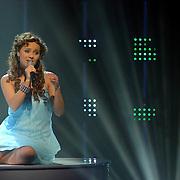 NLD/Hilversum/20070316 - 2e Live uitzending SBS So You Wannabe a Popstar, Monique van der Werff