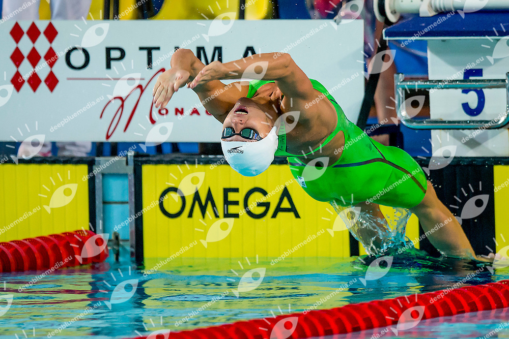 HERASIMENIA Aliaksandra BLR<br /> 50 Backstroke Women 1/4 Tournament <br /> Mare Nostrum 2017<br /> Monaco, Principality of Monaco <br /> Day02 11-06-2017<br /> Photo Andrea Masini/Deepbluemedia/Insidefoto