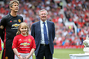 Manchester United 08 XI Manager Sir Alex Ferguson during the Michael Carrick Testimonial Match between Manchester United 2008 XI and Michael Carrick All-Star XI at Old Trafford, Manchester, England on 4 June 2017. Photo by Phil Duncan.