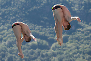Team RUSSIA - NIKOLAEV Nikita MOLCHANOV Ilia<br /> Bolzano, Italy <br /> 22nd FINA Diving Grand Prix 2016 Trofeo Unipol<br /> Diving<br /> Men's 3m synchronised springboard final<br /> Day 03 17-07-2016<br /> Photo Giorgio Perottino/Deepbluemedia/Insidefoto
