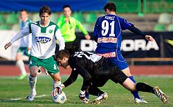 Goalkeeper of Olimpija Jan Oblak at 18th Round of PrvaLiga football match between NK Olimpija and NK Labod Drava, on November 21, 2009, in ZAK, Ljubljana, Slovenia. Olimpija defeated Drava 3:0. (Photo by Vid Ponikvar / Sportida)