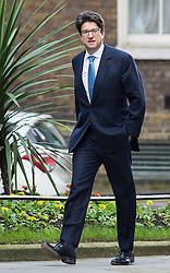 © Licensed to London News Pictures. 23/02/2016. London, UK. Conservative party chairman LORD FELDMAN arrives at number 10 Downing Street in Westminster, London for cabinet meeting. Photo credit: Ben Cawthra/LNP