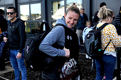 Frankie Brown of Bristol City arrives at the Stoke Gifford Stadium prior to kick-off - Mandatory by-line: Nizaam Jones/JMP - 27/10/2019 - FOOTBALL - Stoke Gifford Stadium - Bristol, England - Bristol City Women v Tottenham Hotspur Women - Barclays FA Women's Super League