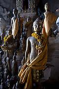 Thousand Buddha Caves on the Mekong River, Luang Prabang, Laos..