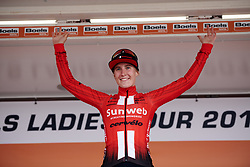 Stage winner, Franziska Koch (GER) at Boels Ladies Tour 2019 - Stage 4, a 135.6 km road race from Arnhem to Nijmegen, Netherlands on September 7, 2019. Photo by Sean Robinson/velofocus.com
