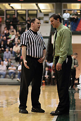 08 March 2014:  Gary Grzesk during an NCAA mens division 3 2nd Round Playoff basketball game between the St Norbert Green Knights and the Illinois Wesleyan Titans in Shirk Center, Bloomington IL
