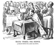 Magna Charta for France. (A second edition of a good old story)