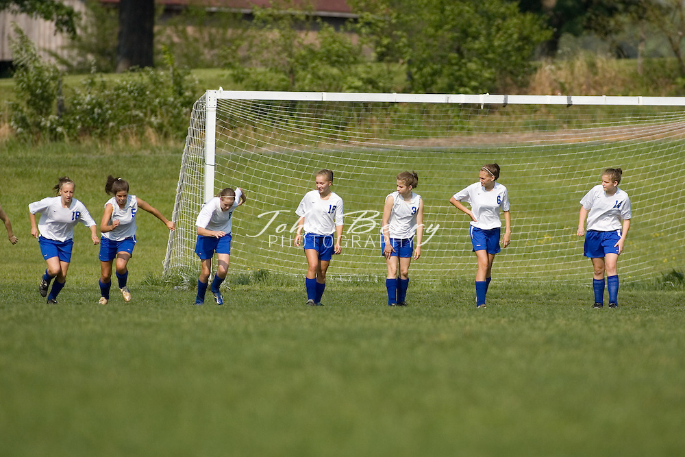 MCHS Girl's Varsity Soccer .vs Rappahannock.5/15/2007