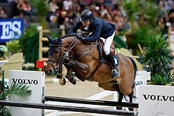 Lindelow Douglas, SWE, Zacramento<br /> Gothenburg Horse Show FEI World Cups 2017<br /> © Hippo Foto - Stefan Lafrentz<br /> 26/02/17