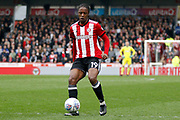 Brentford Midfielder Romaine Sawyers (19) during the EFL Sky Bet Championship match between Brentford and Ipswich Town at Griffin Park, London, England on 7 April 2018. Picture by Andy Walter.